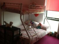 Bunk bed double and single
