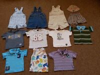 Bundle of summer clothes 6-9 months