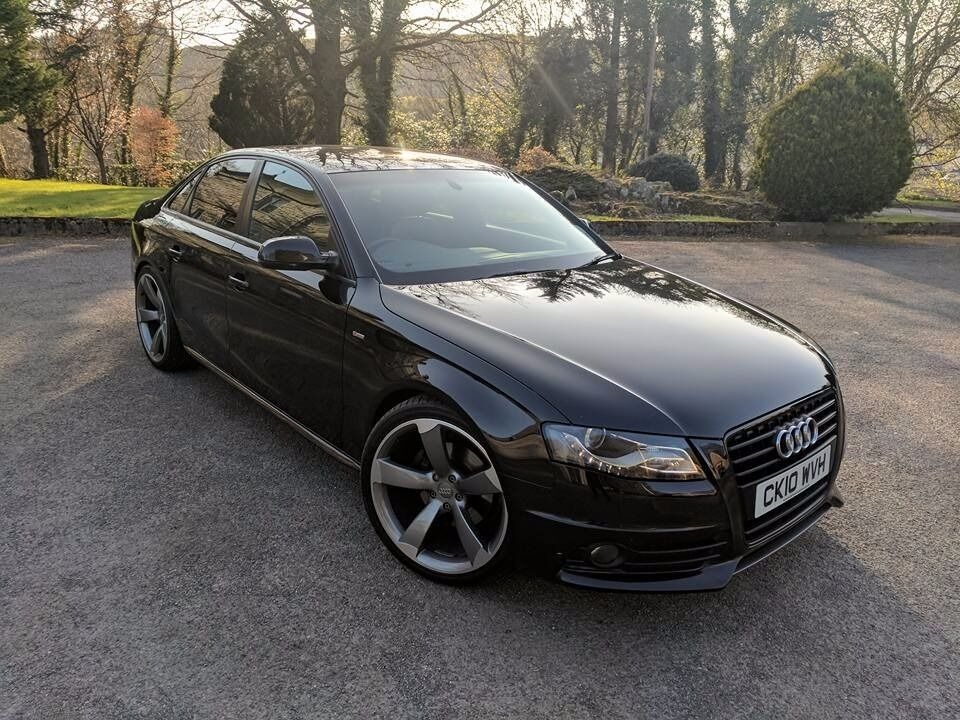 2010 audi a4 s line 2 0 tdi black edition styling in. Black Bedroom Furniture Sets. Home Design Ideas