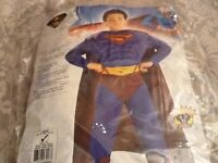 Superman costume fancy dress up outfit
