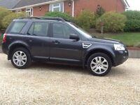 "Land Rover Freelander Nov 2009 ( 59 ) 2.2GS 4wd Lagos grey 19"" trispoke alloys many extras"