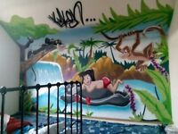 Professional Graffiti/Mural Artist