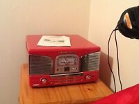 Retro Murphy turntable/cd/radio. Classic car front look