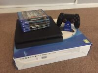 ps4 500g with games