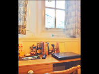 Bright, Central Double room avail from 31/07. £470pm/£470 deposit