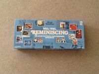 1950s - 1980s REMINISCING Board game. New and unused