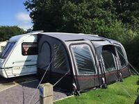 Westfield carina 420 air awning with bedroom compartment used once immaculate.