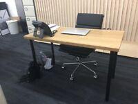 Brand new Ikea wooden desk