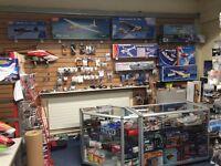 Shop counter units and Slatwall