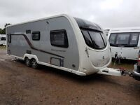 Swift Conqueror 630 4 berth caravan 2012 Fixed Double Bed, Awning, BARGAIN!