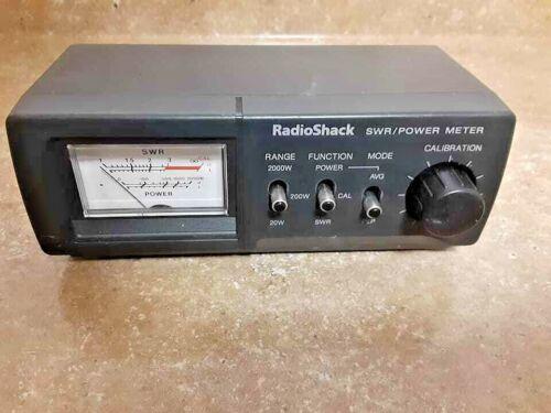 RADIOSHACK 21-534  SWR/POWER METER Fast Shipping