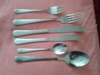cutlery 12 place settings - new unused
