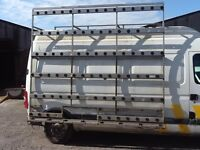 GLASS RACK OFF RENAULT MASTER LONG WHEEL BASE HIGH ROOF VAN