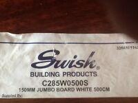 Swish 150 mm x5mtr jumbo facia boards brand new60 available £7.50p each