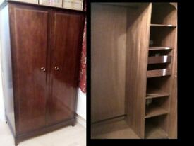 Wardrobe (Solid Wood)