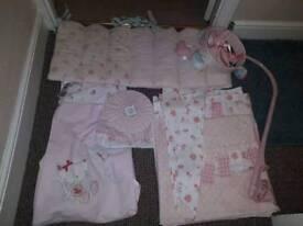 Girls nursery set mamas & papas