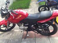 Yamaha ybr 125 2011 new mot bargain