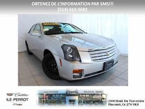 2006 Cadillac CTS 2.8L , TOIT OUVRANT, CUIR,