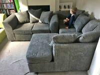 BRAND NEW DYLAN CORD CORNER AND 3+2 SOFA AVAILABLE IN STOCK.ORDER NOW