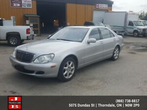 2004 Mercedes-Benz S-Class S500 4dr All-wheel Drive Sedan Base