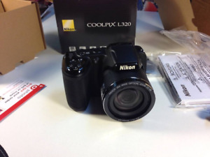 Brand New Nikon L320 Coolpix Camera $200
