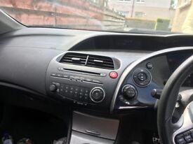 06 Plate Honda Civic 1.8 5 door in red needs MOT