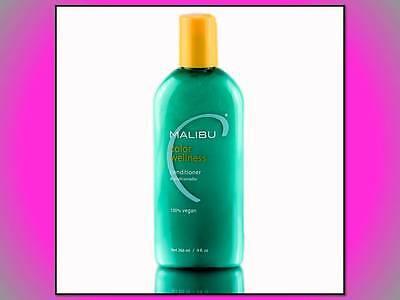 NEW MALIBU C COLOR WELLNESS CONDITIONER 100% VEGAN MOISTURE HYDRATING MANGO 9 (Best Moisturizing Conditioner)