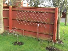 Fencing panels - free