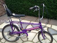Raleigh chopper bike ( fantastic condition )