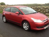 Lovely 2007 Citroen c4 coupe for sale,full m.o.t...£695 ono