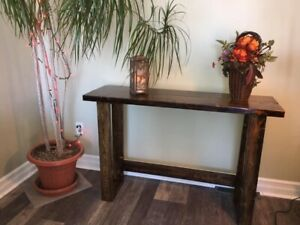 HANDMADE HALLWAY, ENTRANCE OR PLANT TABLE