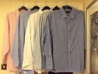 "Men's clothes bundle no.6 - 5 x 20"" collar quality shirts"