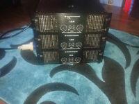 1 x soundstandard L 3.6 power amplifier 3600 watt