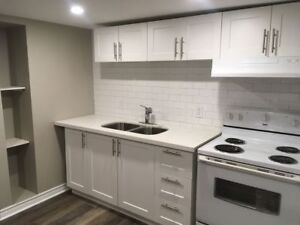FRESHLY RENOVATED - 1 BDRM BASEMENT - MUST SEE