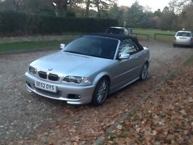 BMW SPORT 325 CI CONVERTIBLE AUTO FULLY LOADED ELECTRIC PACK AIR ALLOYS EYE-CATCHING UNMARKED COND.