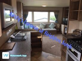 Caravan to rent at Reighton Sands Filey situated on Silverwoods (pet friendly)