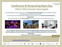Conference & Banqueting Open Day - 5pm 24/08/16 - Hilton Manchester Deansgate