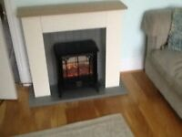 Dimplex micro fire suite brand new