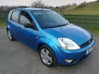 2005 Ford Fiesta 1.3 Blue 5dr-Low Miles-Passed MOT Full 12Months2019 -polo,clio,corsa,yaris,ka,207