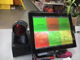 Aures Yuno Epos TouchScreen System Pos Bar, Restaurant, Takeaway, Retail Fast Food Coffee shop