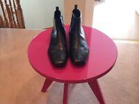 Men's black Prada boots