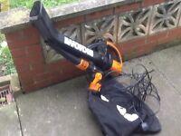Worx 240v blower/garden vac