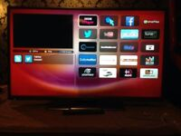 42 inch hitatchi smart led tv