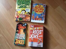 Four kids joke books