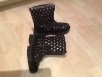 Snow boots size 4(37)