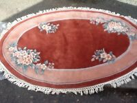 Frith Rugs 100% Wool Premier Chinese Oval Rug (6ft x 4ft)