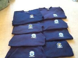 Fulford school blue jumpers years 7-8