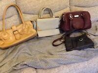 Ladies handbags, nearly new condition