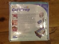 Safe Dreams breathable mesh 4 sided cot wrap