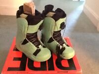 Ride Sash Women's Snowboard Boots Size 6